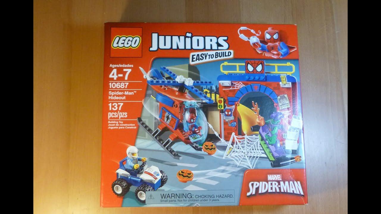 Marvel Unboxing Hideout Spider Super 10687 Opening Unboxalot 239 Lego Build Man Heroes nOkX80wP