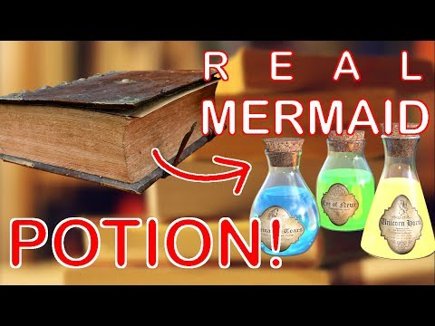 REAL mermaid potion🍶🚱 CONFIRMED from...