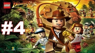 Lego Indiana Jones Walkthrough - Part 4 The Well Of Souls