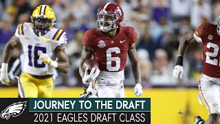 Recapping the Eagles 2021 Draft Class | Journey to the Draft