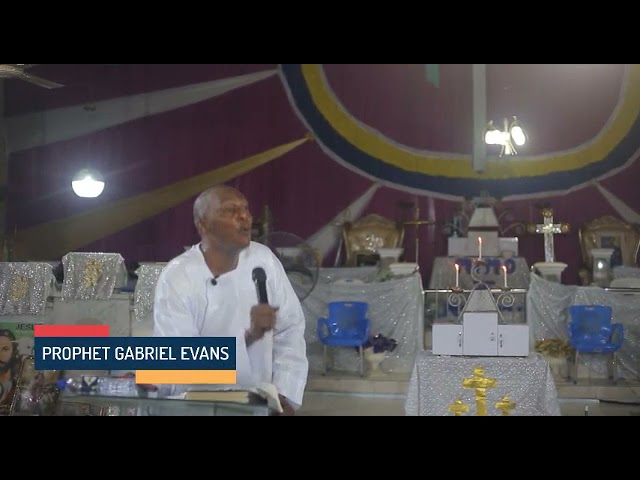 When God answers your prayer, stop womanizing; Prophet Gabriel Evans sends  a warming message to men - YouTube