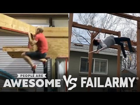 Skateboarding, Wakeboarding & More | People Are Awesome Vs. FailArmy