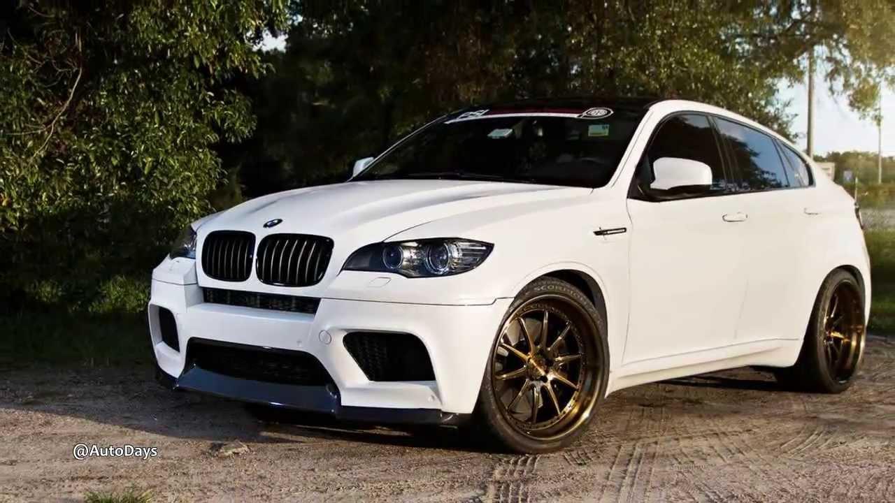 BMW X6 M Matte White