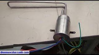 Thiết bị hỗ trợ nhiệt máy năng lượng | điện trở nấu nước nóng cho gia đình