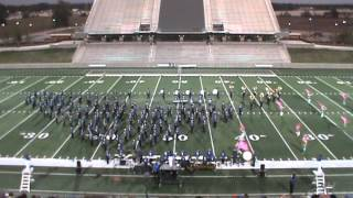 Barbers Hill Soaring Eagle Marching Band Area F- 5A FINALS 10/28/15