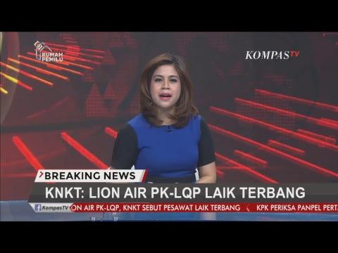 KNKT Klarifikasi Lion Air PK-LQP Laik Terbang