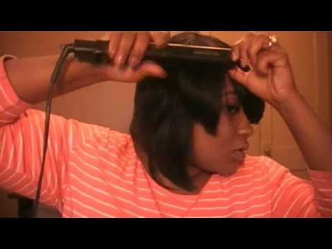 Homemade Wig/Quick Weave w/Outre Premium Duby hair {Protective Style}