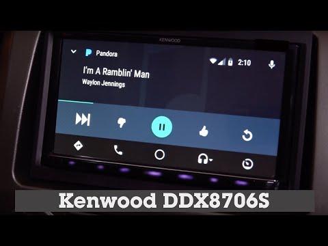 Kenwood DDX8706S Display and Controls Demo   Crutchfield Video
