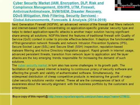 Cyber Security Market Forecasts to 2019