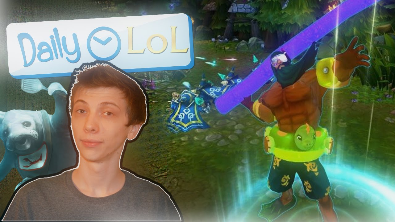 Daily lol ap tryndamere pool party zag ada u r f 4 for Pool party daily show