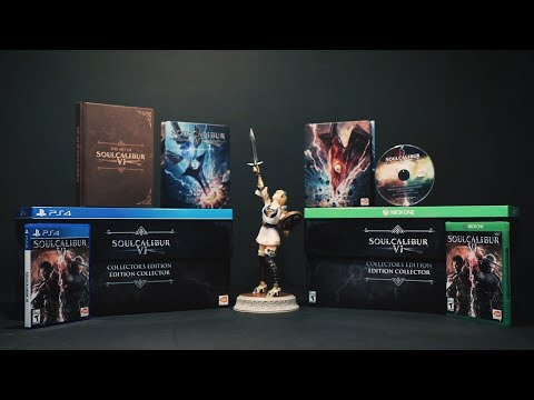 SOULCALIBUR VI - Collector's Edition Unboxing | PS4, X1