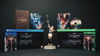 SOULCALIBUR VI - Collector's Edition Unboxing   PS4, X1