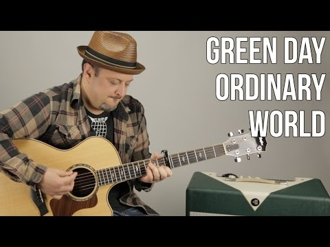 Ordinary World Guitar Tutorial - Green Day Guitar Lesson - Easy Acoustic Songs For Guitar