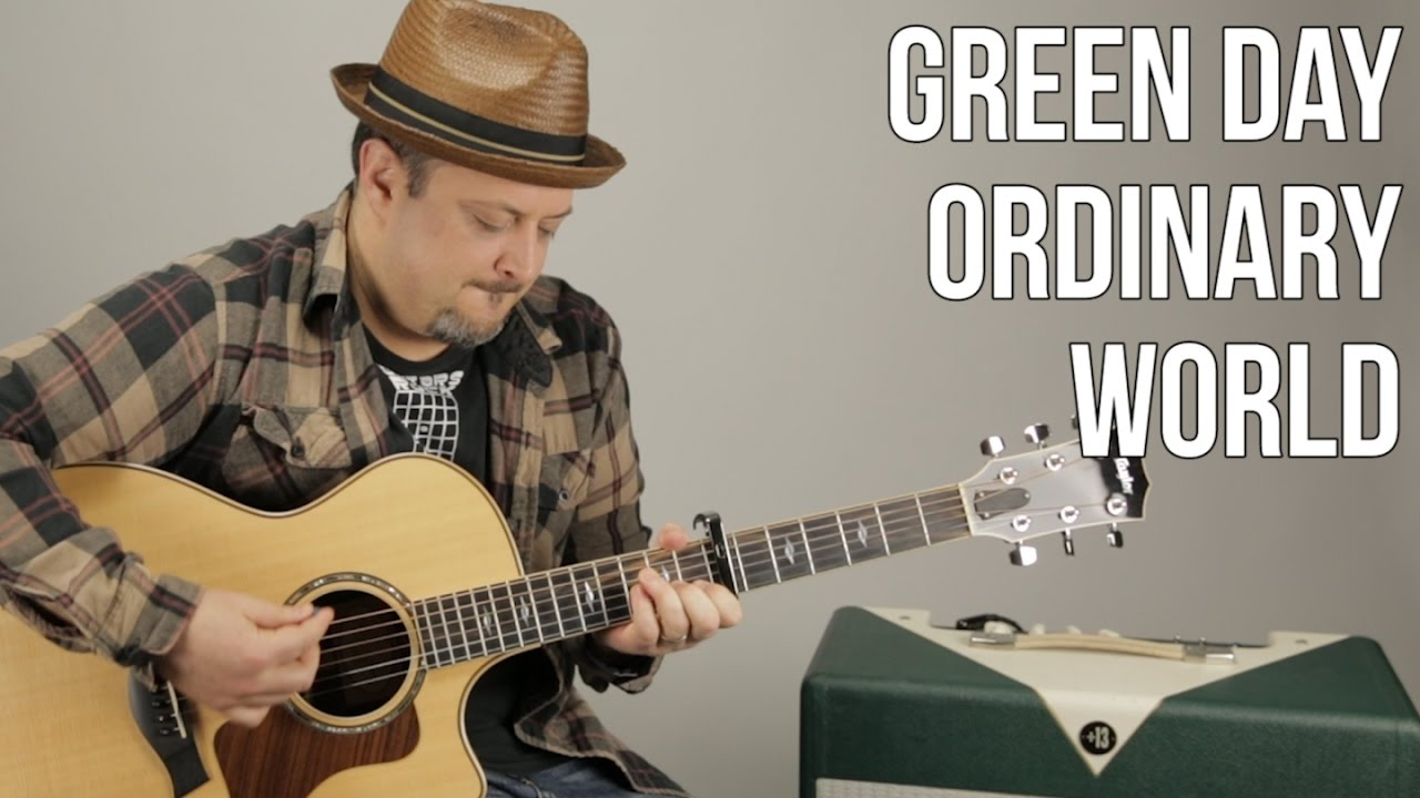 Ordinary World Guitar Tutorial Green Day Guitar Lesson Easy