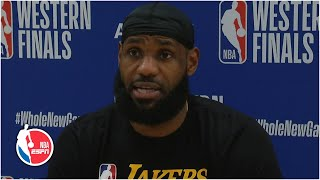 LeBron James focused on limiting mistakes after Game 3 loss to Nuggets | 2020 NBA Playoffs