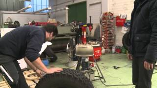 Offroad - Reifenwechsel der Hutchinson Beadlock Felge