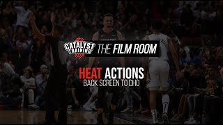 Back Screen to DHO || Miami Heat Actions