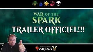 Trailer Officiel War of the Spark - Mes premières impressions!