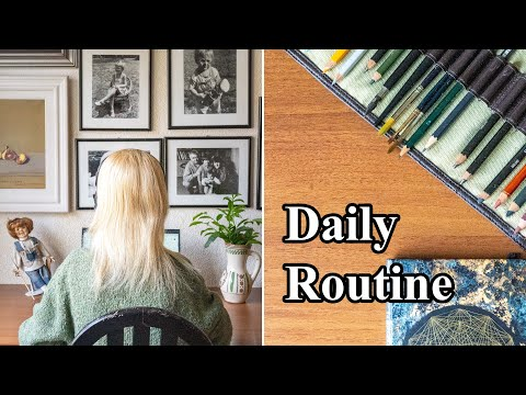 My realistic morning & productive routine at my parents home in Belgrade, Serbia // Eastern Europe