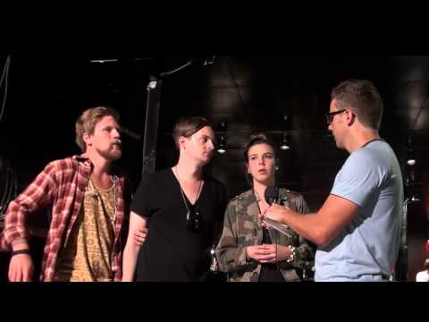 Music Talk with Of Monsters And Men, Zürich 2012