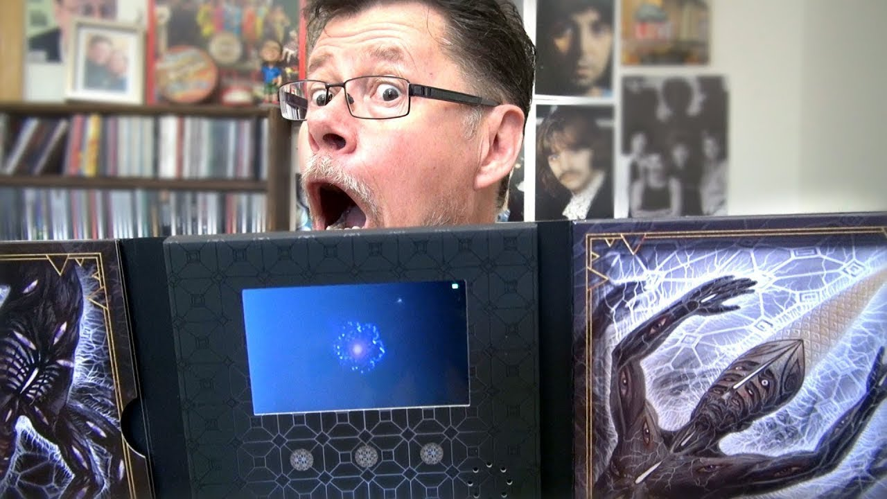 TOOL Fear Inoculum Limited Edition CD Unboxing - New Album 2019