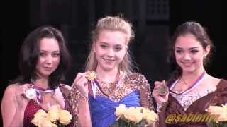 2015 Russian Nationals - Ladies medal ceremony HD