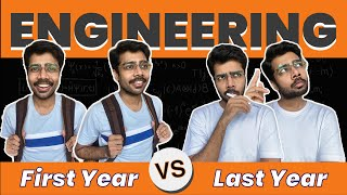 Transition of an Engineering Student | First Year Vs Last Year | Engineer's Day Special Video