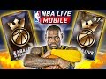 INSANE KINGS OF THE COURT PACK OPENING + CRAZY 97 OVR PULL   NBA LIVE MOBILE PACK OPENING