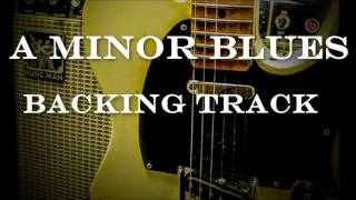 A minor Blues Backing Track - B B King style track