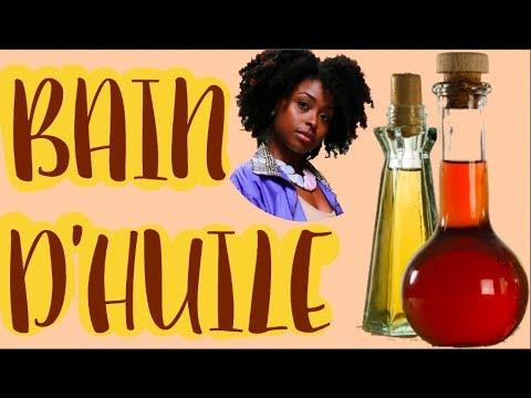 mon journal capillaire bain d 39 huile pour cheveux secs et cr pus youtube