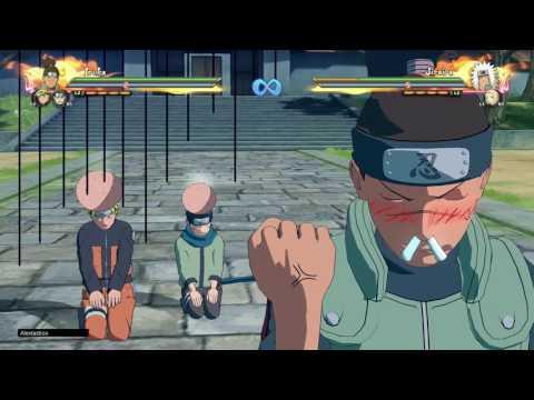 Naruto Shippuden: Ultimate Ninja Storm 4 (Sin música) Jutsus definitivos en equipo en español latino