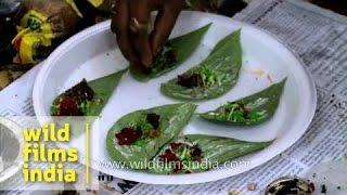 Pan making competition during Jagannath Rath Yatra Mahotsav