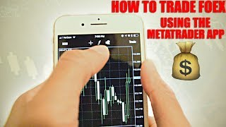 How to Trade Forex Using MetaTrader 4. Make Money From Your Phone! MT4 Walkthrough.
