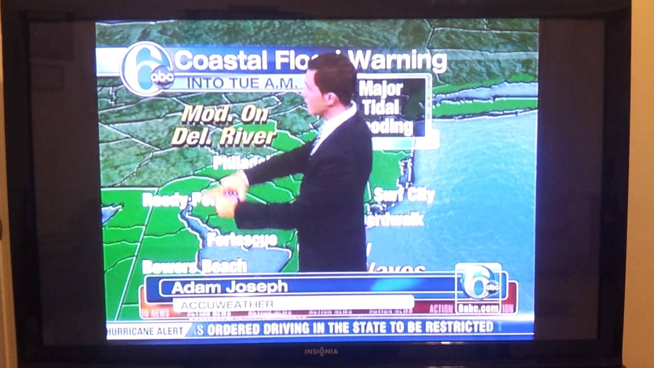 Rude 6 Abc Weather Girl Cecily Tynans Meteorologist Adam Joseph A Moron On Live T V You
