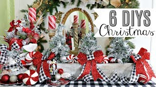🎄6 DIY DOLLAR TREE CHRISTMAS DECOR CRAFTS 2019🎄