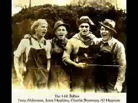Blue Ridge Mountain Blues - The Hill Billies 1926