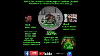Paranormal Soup Ep 177 guest Spiritual Medium Barbara Petrone