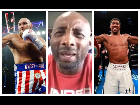 'ITS NOT BULLS*** - TYSON FURY THINKS HE CAN KNOCK ANTHONY JOSHUA OUT IN 2/3 ROUNDS' - JOHNNY NELSON