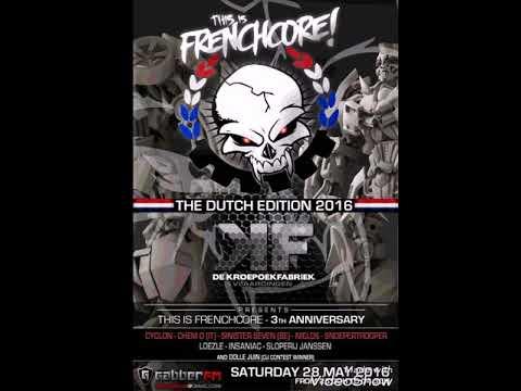Dolle Juin live @ This is frenchcore Kroepoekfabriek Vlaardingen (NL) 28-5-16