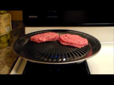 Best Smokeless Indoor Stove Top Grill - YouTube
