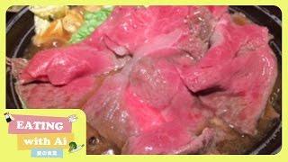 Melts in your mouth | Yonezawa Beef Sukiyaki Ohki at Tokyo Station
