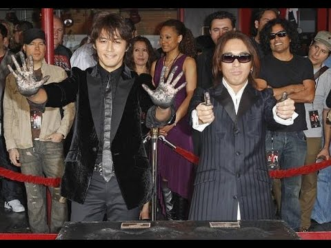 B'z from Japan!! Honored by Steve Vai & Hollywood