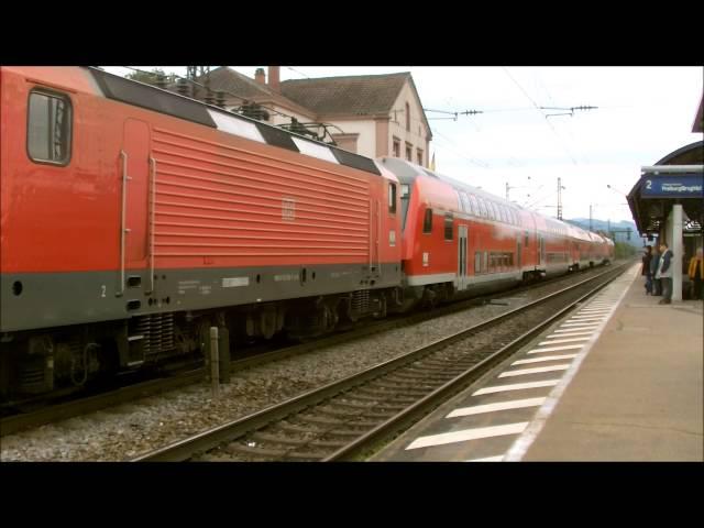 Regionalbahn mit Br 143 in der Zugmitte!