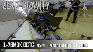 SKYFALL - A ZeroG Flight From Right In The Middle