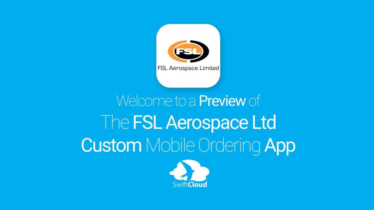 FSL Aerospace Ltd - Mobile App Preview - FSL9558W