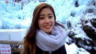 Свидание с очень милой японкой. Показал ей большие сосульки и научил русскому
