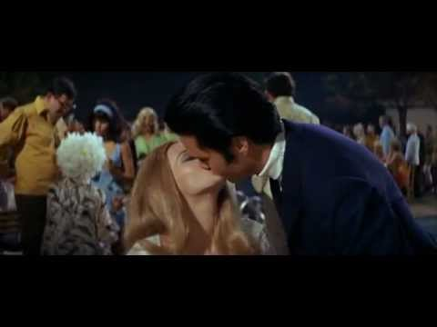 """Elvis Presley and Celeste Yarnall in Norman Taurog's """"LIVE A LITTLE LOVE A LITTLE"""" (1968)"""