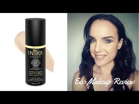 My Fave Eco Foundation | Inika Truly Organic Liquid Foundation