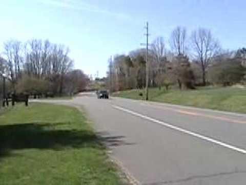 Example of Doppler Shift using car horn