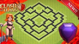 Clash of Clans NEW TH8 FARMING BASE ULTIMATE PROTECTION!